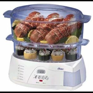 OSTER | Electric steamer for veggies meat rice